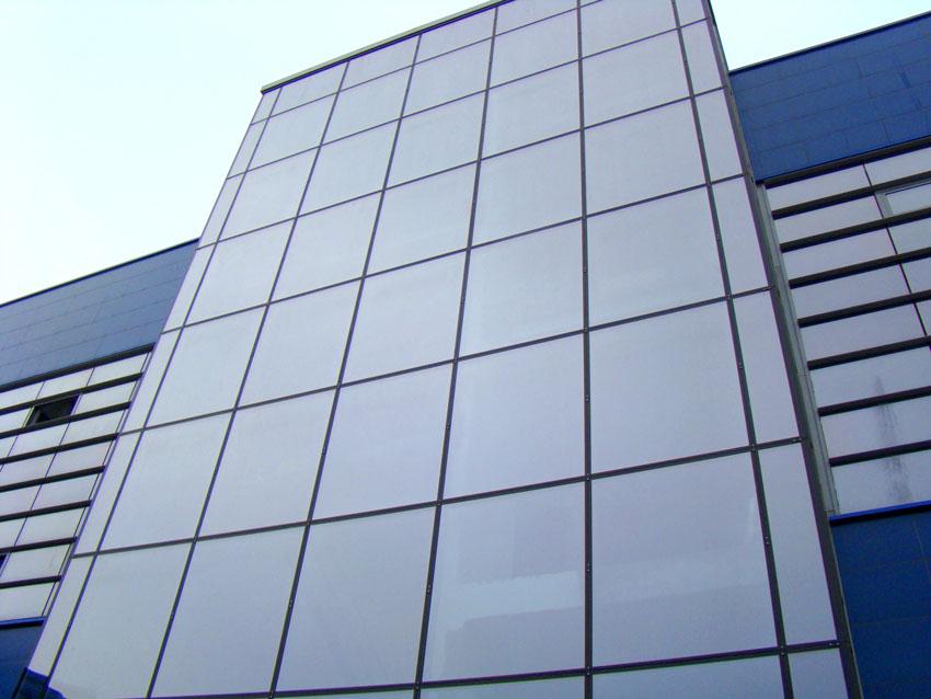 Installation Of Aluminum And Glass Facades Mtd Bio D O O